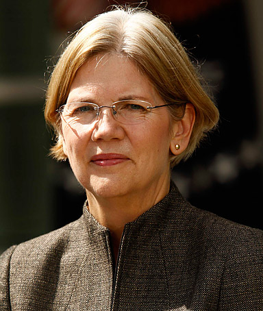 She's a janitor's daughter who has become one of the country's fiercest advocates for the middle class. PRESIDENT OBAMA, on Elizabeth Warren, who he appointed to launch the powerful new Consumer Financial Protection Bureau.