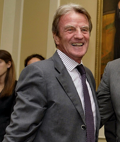 French Foreign Minister Bernard Kouchner, left, Haitian Prime Minister Jean-Max Bellerive, center, and U.S. Secretary of State Hillary Clinton during a meeting of foreign delegates in New York, Monday, Sept. 20, 2010