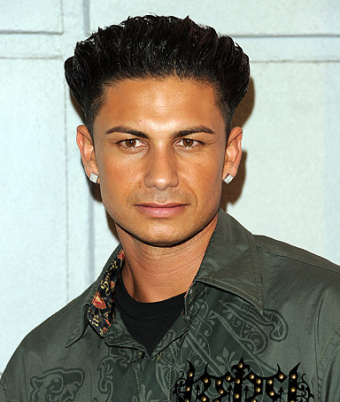 pauly d with his hair down. pauly+d+with+his+hair+down