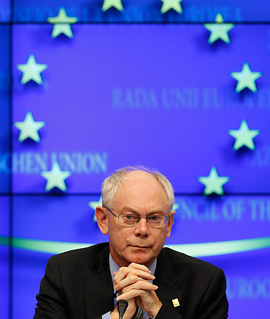 �Last spring we took courageous decisions, we won the battle of the euro. Today we show we can draw the lessons of the crisis.�