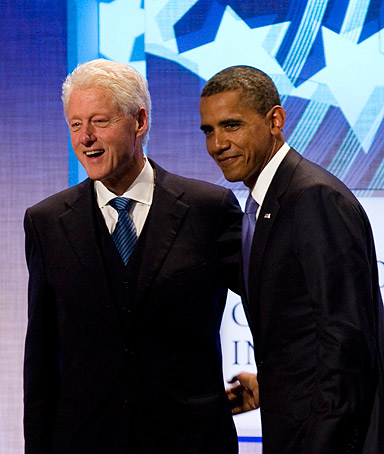 Bill Clinton and Obama Relationship