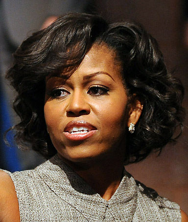 MICHELLE OBAMA,; First Lady,