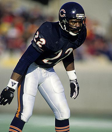 Chicago Bears safety Dave Duerson (22) in action.