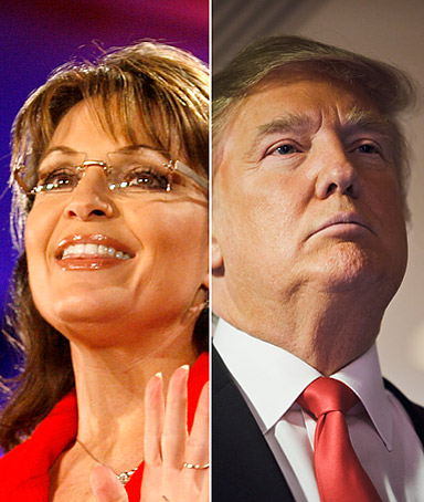 Sarah Palin and Donald Trump suffer from the reality that, as our mothers told us, you never get a second chance to make a first impression.