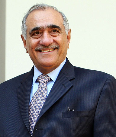Pakistan National Security Advisor Mahmud Ali Durrani is seen in New Delhi on October 13, 2008.