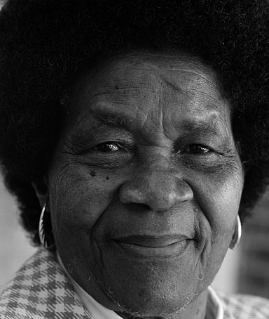 Albertina Sisulu, file photo circa 2002. Sisulu, the former deputy president of the ANC Women's League, has died, June 3, 2011 aged 92.