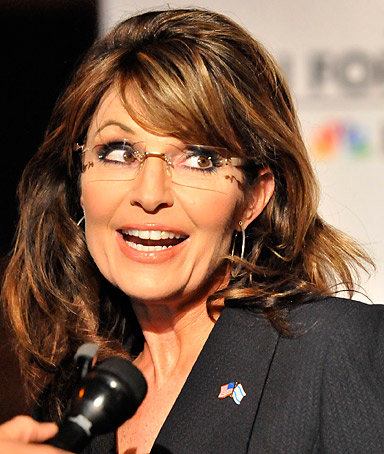 Sarah Palin in Washington DC on April 30, 2011