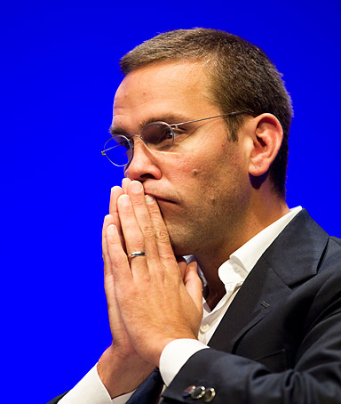 James Murdoch, chairman of News Corporation.