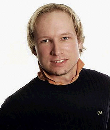 This screen grab of an undated photograph on Facebook.com shows the central suspect of the Norway terror attacks, named by sources as Anders Behring Breivik, July 23, 2011.