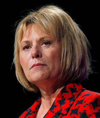 Yahoo CEO Carol Bartz speaks at the American Association of Advertising Agencies annual Media and Leadership Conference in San Francisco, California in this March 1, 2010 file photo.