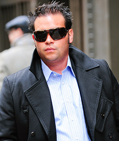 Television personality Jon Gosselin walks in Greenwich Village on November 23, 2009 in New York City.
