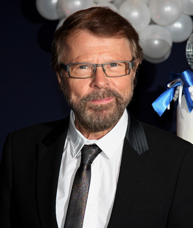 Bjorn Ulvaeus of Abba poses for the premiere of 'Mamma Mia!' Paris Premiere at Theatre Mogador on October 28, 2010 in Paris, France