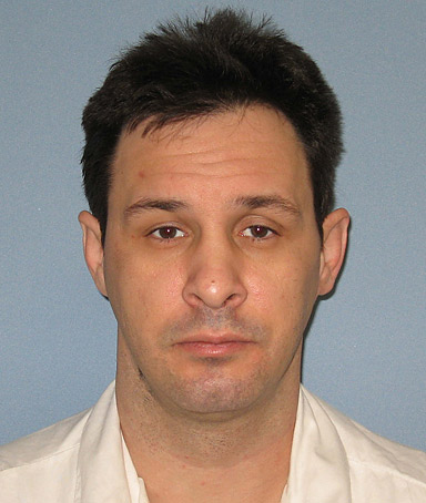 This photo provided by the Alabama Department of Corrections shows Alabama death row inmate Christopher Johnson, who is scheduled to be executed Thursday, Oct. 20, 2011 at Holman Prison in Atmore, Ala.