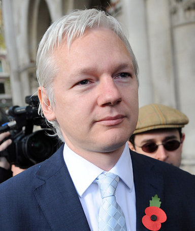 Wikileaks founder Julian Assange arrives at the High Court in London, Britain, 02 November 2011