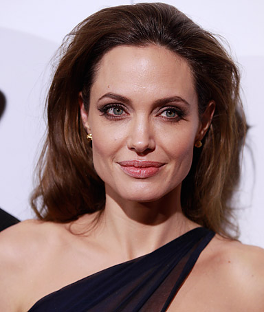 Angelina Jolie, writer and director of the film ' In the Land of Blood and Honey,