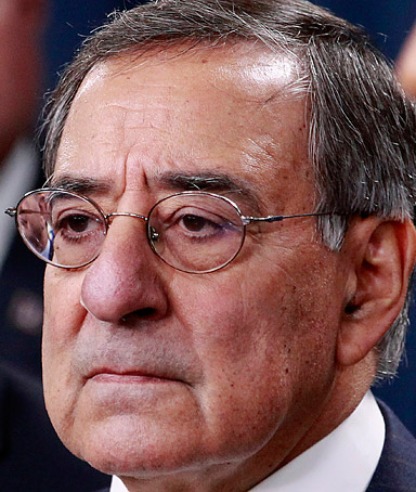 In this Jan. 5, 2012 file photo, Defense Secretary Leon Panetta is seen at the Pentagon.