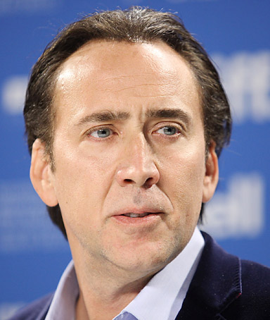 Nicolas Cage attends the