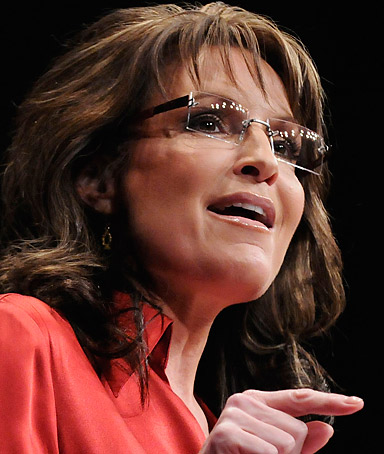 Former Alaska Governor Sarah Palin speaks to the American Conservative Union's annual Conservative Political Action Conference (CPAC) in Washington February 11, 2012.