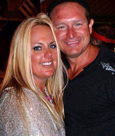 This undated photo provided by Joe Decker Monday, March 5, 2012, shows Decker with his 36-year-old wife, Stephanie Decker.