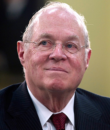 In this April 14, 2011 file photo, Supreme Court Justice Anthony Kennedy testifies on Capitol Hill in Washington.