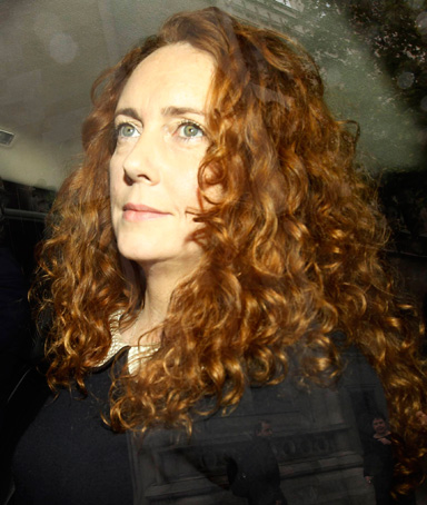 Former News International chief executive Rebekah Brooks arrives before giving evidence before the Leveson Inquiry into the ethics and practices of the media at the High Court in central London May 11, 2012