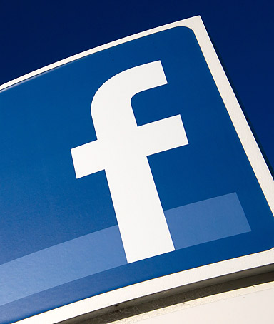Facebook Inc. signage is displayed outside the company's new campus in Menlo Park, California, U.S., on Friday, Dec. 2, 2011.
