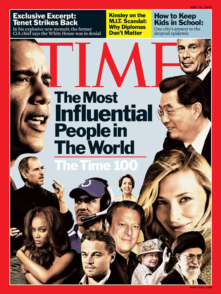 The 2007 TIME 100