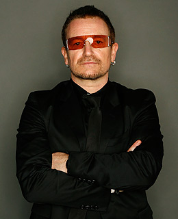Bono deserves a hot tub