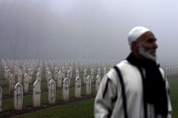 Almost 500 graves in a Muslim World War I cemetery near Lens in France were