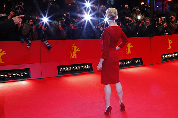 Renee Zellweger arrives for the screening of the movie My One And Only  at the 59th Berlin International Film Festival.