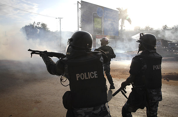 Unrest in Uganda