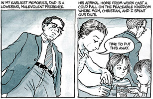 essays on fun home Equal parts kunstlerroman, psychoanalytic case study, and literary criticism, alison bechdel's graphic memoir, fun home: a family tragicomic, frames the development of a lesbian identity through the strategic use of visual and verbal representation of memories, interpretive acts, and the use of.