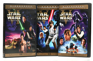 Star Wars Empire Strikes Back and Return of the Jedi