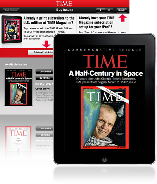 TIME Commemorative Issue on the iPad