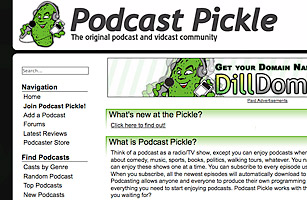 Podcasts - 50 Best Websites 2006 - TIME