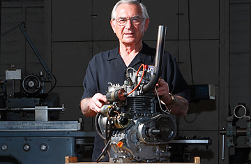 Bruce Crower 77 An Auto Racing Designer With A Thriving Business In San Go Has Invented Hybrid Steam Engine Which Water