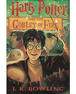 Harry Potter and the Goblet of Fire by J K Rowling - review