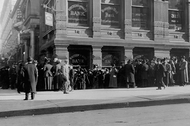 The Panic of 1907 After the demise of the second bank, state-chartered and uncharted
