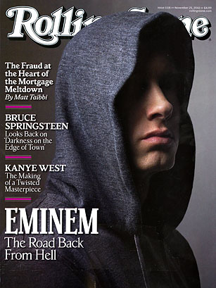 Rolling Stone', November 2010 - The Top 10 Everything of