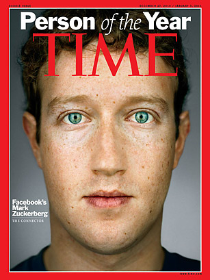 Mark Zuckerberg - Person of the Year 2010 - TIME