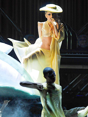 Lady Gaga, 'Born This Way' - Best and Worst of the 2011 Grammys - TIME