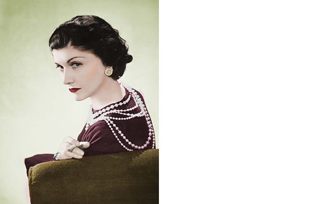 coco chanel all time top 100 icons in fashion style and design time. Black Bedroom Furniture Sets. Home Design Ideas