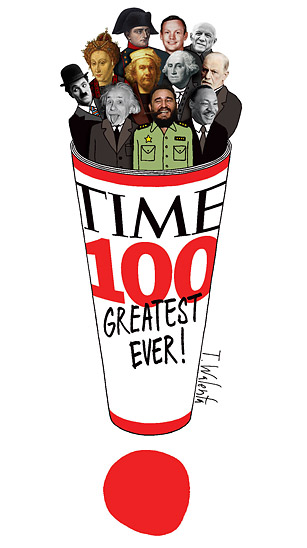 from to eternity time the most influential people  dek