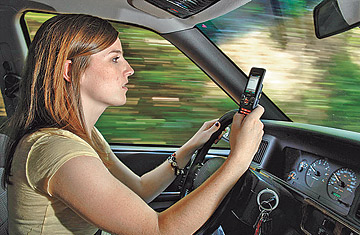 Behind The Wheel >> Text Messaging Behind The Wheel Time