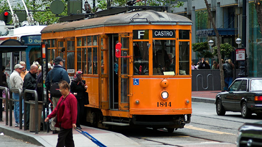 Trams San Francisco Map.San Francisco 10 Things To Do 4 The Trolley To The Castro Time