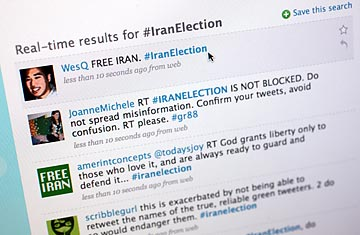 Iran's Protests: Why Twitter Is the Medium of the Movement