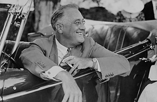 The Iconic Photo Of Fdr Video Time Com