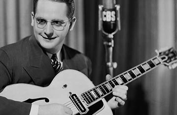 les paul dies at 94 guitar legend inventor remembered time. Black Bedroom Furniture Sets. Home Design Ideas