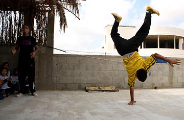 Young Break Dancers In Gaza Find Freedom In Hip Hop Time