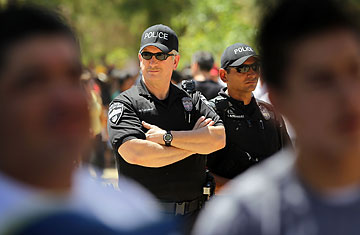 Arizona Police Mixed Feelings On Illegal Immigrant Law Time
